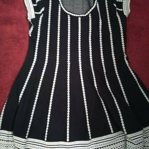 Dresses & Skirts - Black and White A shape 👗